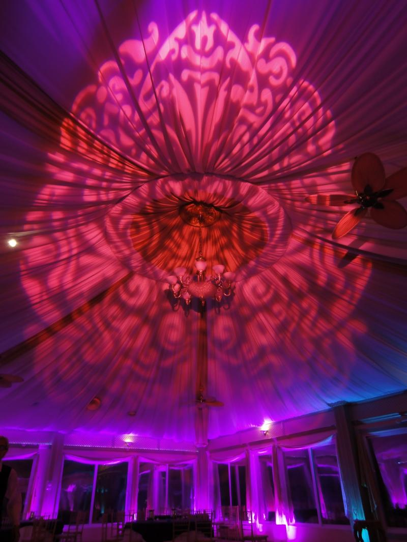 Hourglass Entertainment Tent Lighting