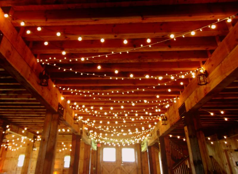 Hourglass Entertainment - Barn Lighting / String Lights Hourglass Lighting takes pride in ...